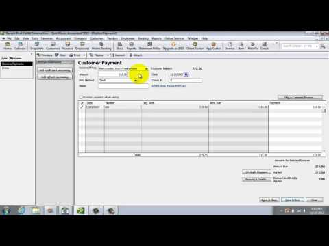 How To Make Deposits In Quickbooks