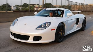 The Porsche Carrera GT DAILY DRIVER in New York!
