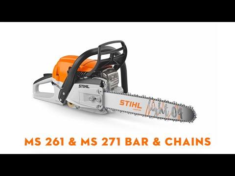 STIHL Petrol Chainsaw MS 261 C-M