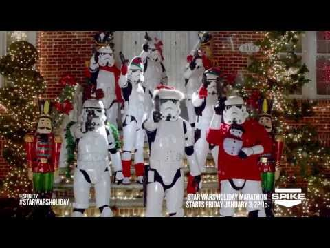 SPIKE TV STAR WARS HOLIDAY COMMERCIAL