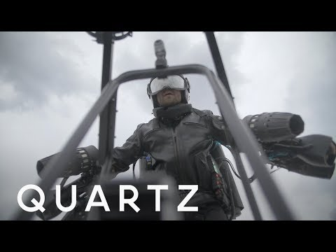 A Real Life Iron Man Jet Suit