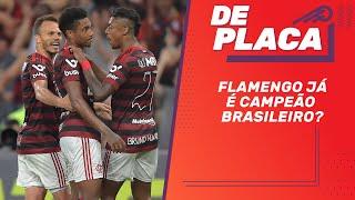 FLAMENGO com uma mão na taça, SÃO PAULO x CORINTHIANS e Odair DEMITIDO | De Placa (11/10/2019)