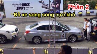 Trình diễn mạo hiểm Đỗ Xe Song Song khoảng cực nhỏ tại triển lãm VIMS 2017- CuongMotor