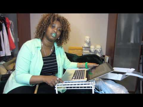 Girl uses Hammer on Brand new MacBookPro for Lady GaGa - GloZell