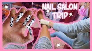 COW PRINT NAILS , NEW FASHION STUDIO, OPENING MORE PR PACKAGES | VLOG