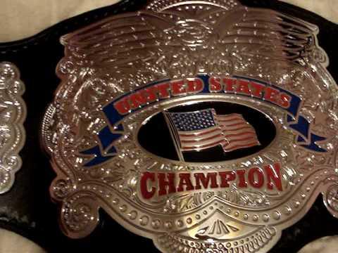 Custom Hand Made United States Championship Wrestling Belt