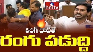AP CM Jagan serious comments on TDP Leaders, terms as stre..