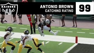 First look at Antonio Brown in Madden NFL 20 | Raiders