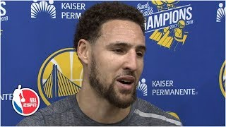 'Our antennas are definitely up' for the Portland Trail Blazers - Klay Thompson | 2019 NBA Playoffs