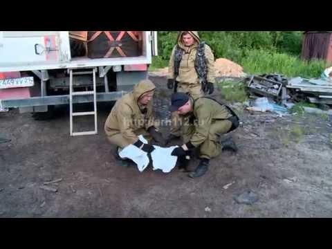Уничтожение артиллерийских снарядов