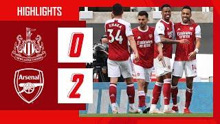 HIGHLIGHTS   Newcastle United vs Arsenal (0-2)   Premier League   Elneny, Aubameyang