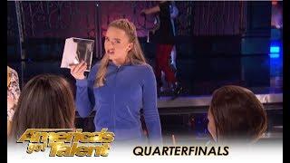 PAC Dance Team: High School Group STEP IT UP! | America's Got Talent 2018