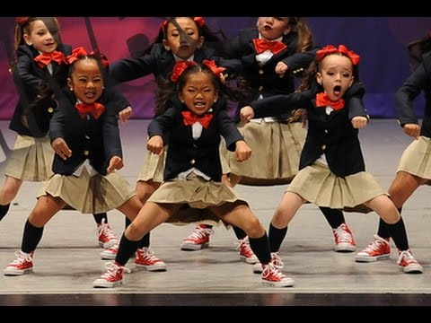 7 year old hip hop dancer Chloe Kim