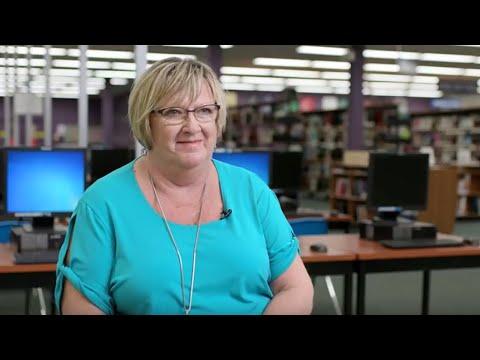 Video: Debbie Pielechaty, the first winner of the OTIP Support Staff Worker Award