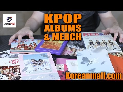 [UNBOXING] KPOP Albums and Merch - Koreanmall.com
