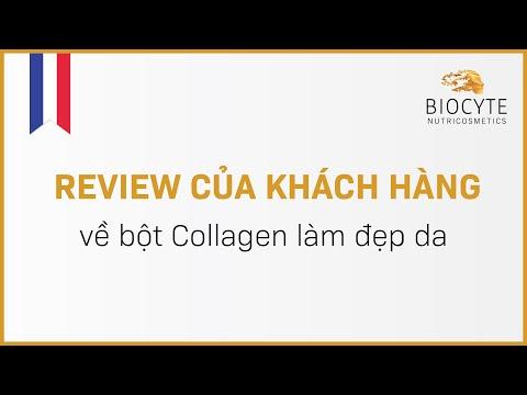 Review của khách hàng về bột Collagen làm đẹp da