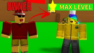 The OWNER Joined And Gave Me MAX LEVELS.. (Roblox Destruction Simulator)
