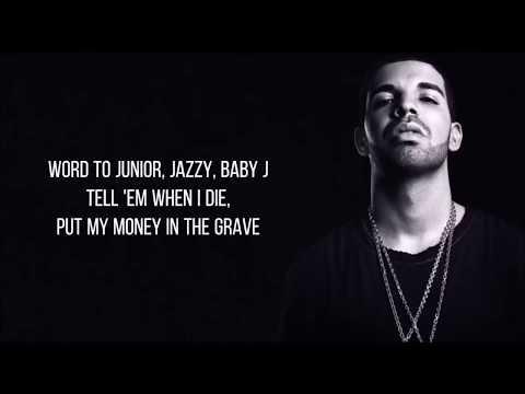 Drake - Money In The Grave ft. Rick Ross (Lyrics)