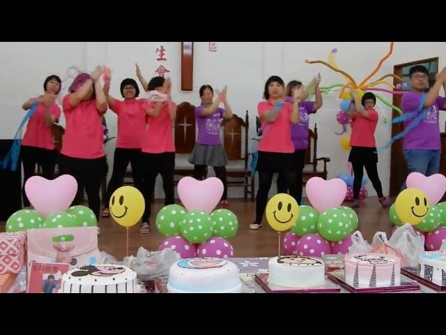 今日暖新聞》影/企業做公益 陪喜樂保育院身障者過生日