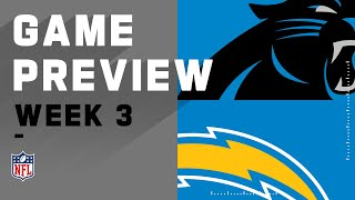 Carolina Panthers vs. Los Angeles Chargers | Week 3 NFL Game Preview