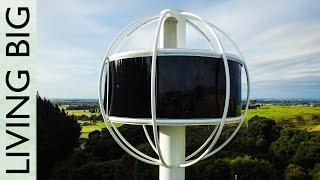 Insane Futuristic Man Cave - The Skysphere