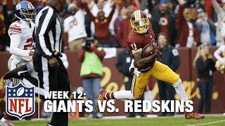 Kirk Cousins Flings a Deep 63-Yard TD Pass to DeSean Jackson! | Giants vs. Redskins | NFL