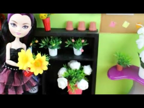 How to Make Doll potted plants - Recycling - Realistic Look