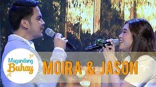 """Magandang Buhay: Moira and Jason's sweet duet of """"Tagpuan"""""""
