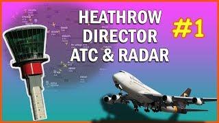 Heathrow Director EGLL Approach LIVE ATC 120.4mhz