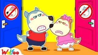 Don't Enter My Room! - Kids Stories About Wolfoo Family   Wolfoo Family Kids Cartoon