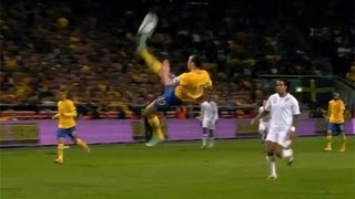 Best bicycle goal ever / Zlatan Ibrahimovic Vs England in Swedish commentary
