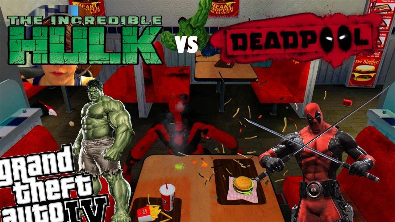 Deadpool Vs The Incredible Hulk – HD Wallpapers