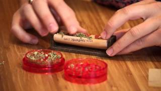 The easy way to roll a joint and pack pipe with marijuana