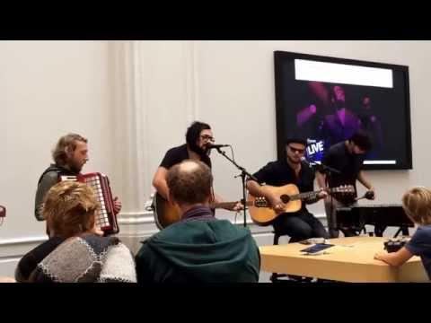 Concert Blaudzun Apple Store Amsterdam