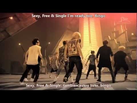 Super Junior - Sexy, Free & Single [Sub Español + Hangul + Romanización]