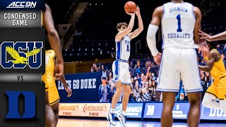Coppin State vs. Duke Condensed Game | 2020 ACC Men's Basketball