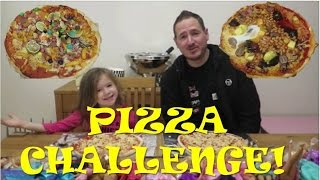 Pizza Challenge! (Featuring the world's first Jelly, Peanut Butter & Marmite Pizza)
