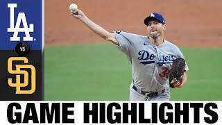 Dodgers vs. Padres Game Highlights (8/26/21) | MLB Highlights