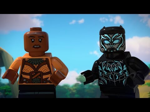 LEGO Marvel Super Heroes: Black Panther - Trouble in Wakanda'