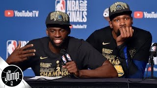 Do you buy Draymond's indifference toward Kevin Durant's free agency decision? | The Jump