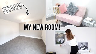 HUGE ROOM MAKEOVER 2020 + ROOM TOUR! | Aesthetic & Pinterest inspired | Naomi Victoria ad