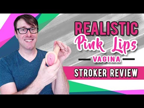 Cyberskin Pink Lips Vagina Stroker | Realistic Male Masturbator | Pocket Sex Toy Review