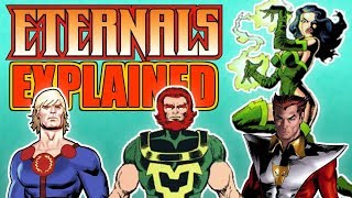 WHO ARE THE ETERNALS? - Everything you need to know || Marvel, MCU Film, Characters, Powers, Fancast