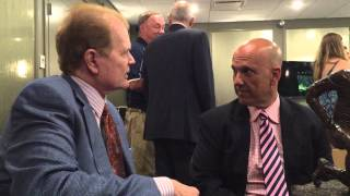 Chet Coppock interviews Dave Kaplan