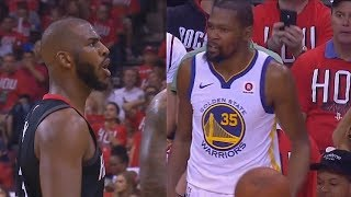 "Chris Paul Tells Kevin Durant ""Shut Up and Play Ball"" For Complaining About Foul!"
