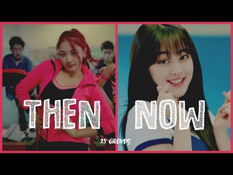 Debut Song Vs Latest Song | 25 Girl Groups