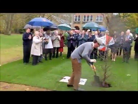 Col C Lambert Tree Planting