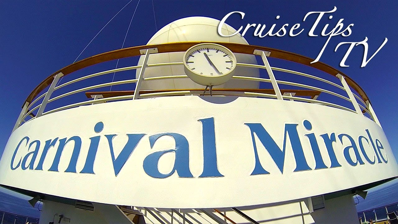 Carnival Miracle Ship Tour