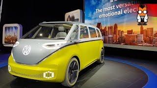 Volkswagen I.D. Buzz 4 Çekişli 8 Kişilik Elektrikli Sürücüsüz Mikrobüs