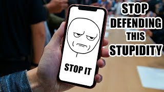 iPhone XR - Stop Defending This Stupidity